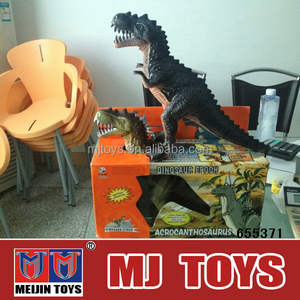 Battery operation fierce animal toy dinosaur toy with light and sound