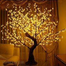 Toprex decor illumination para fiestas commercial rgb color changing led cherry blossom tree light