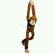 "Plush animal's Kid's toy's 42"" long x 9"" wide Monkey long arm and leg stuffed monkey toys"