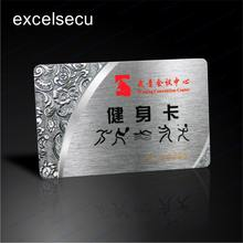 ESECU Manufacture Customized programmable memory luxury business smart membership card