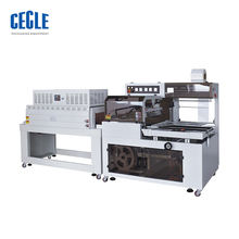 Factory shrink wrapping machine /shrink packer with high speed , draining rack shrink wrap machine