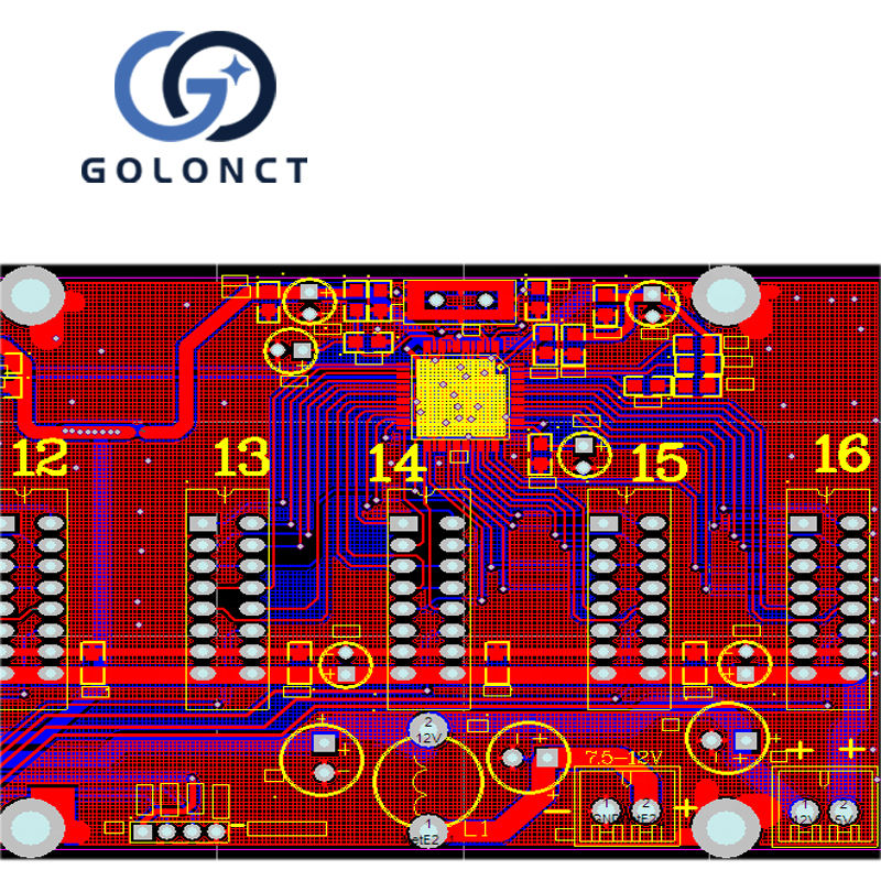 chip IC decryption pcb circuit board clone led pcb layout design OEM Train services