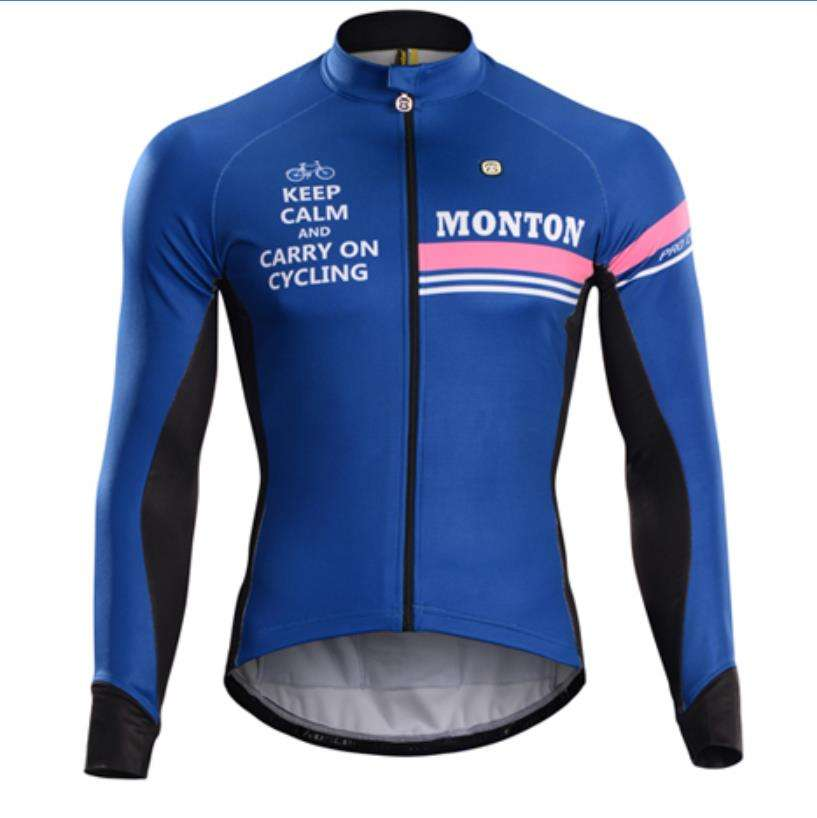 Monton manufacturer professional cycling clothing winter jacket