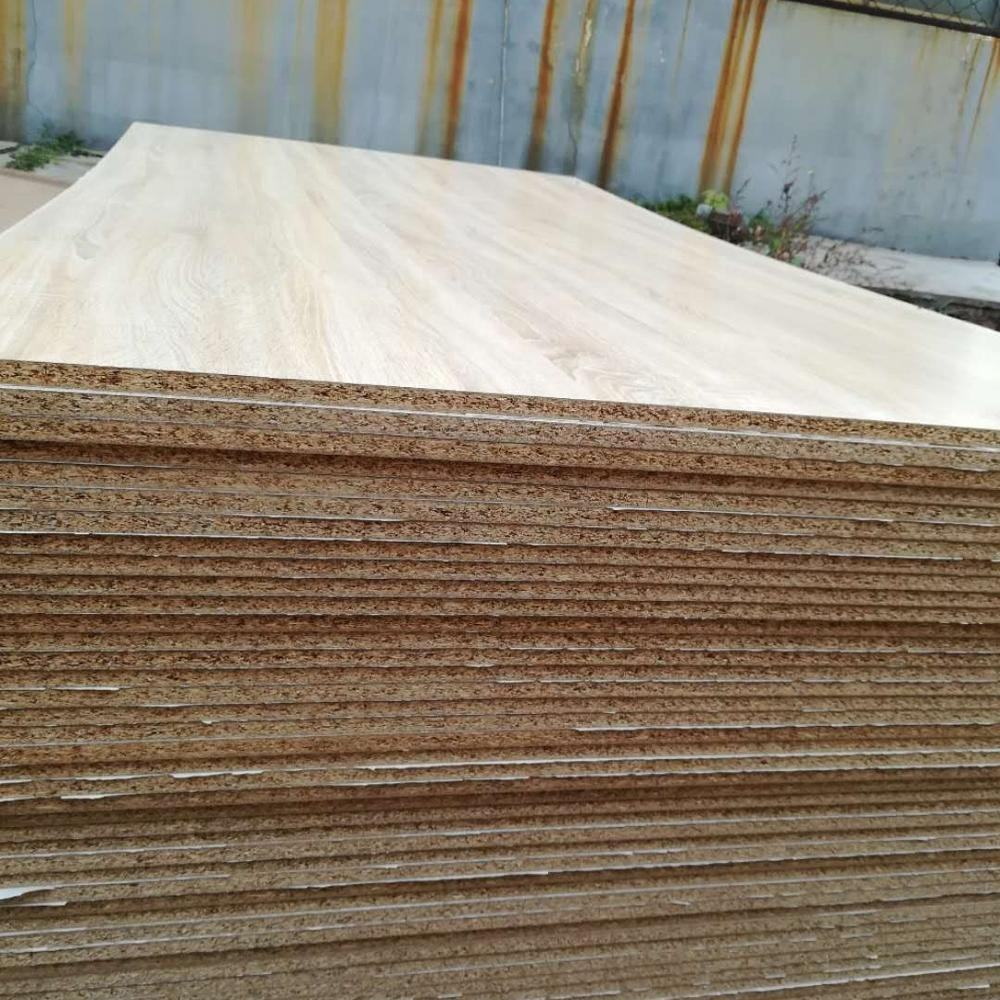 White 15mm melamine particle board of china Red Kapok
