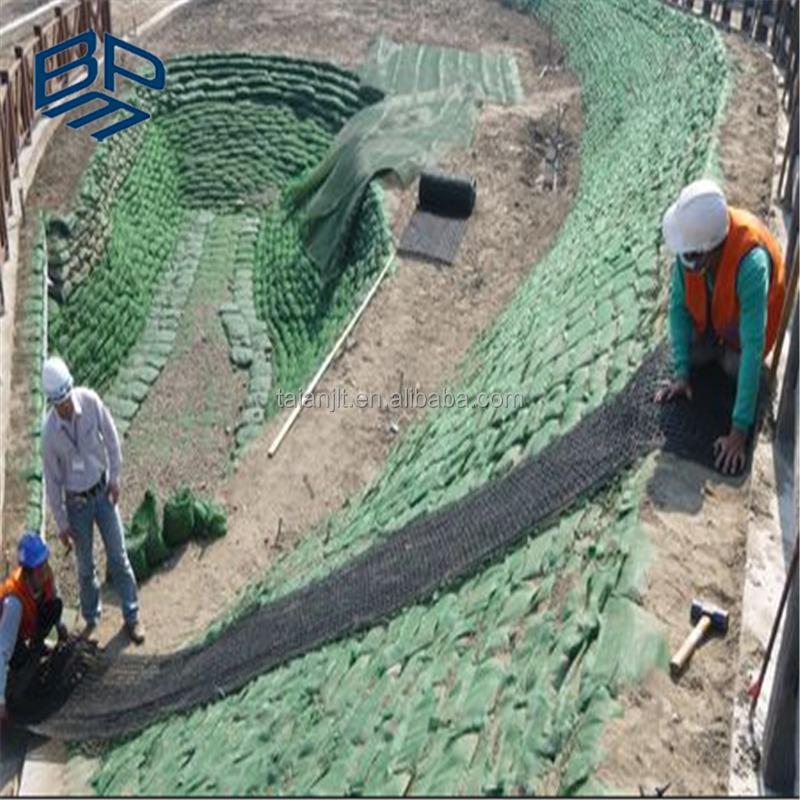 3D turf reinforcement mats geomat hdpe mesh for slope protection