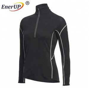 Winter baselayer merino wool heated thermal long underwear tops johns for outdoor sport