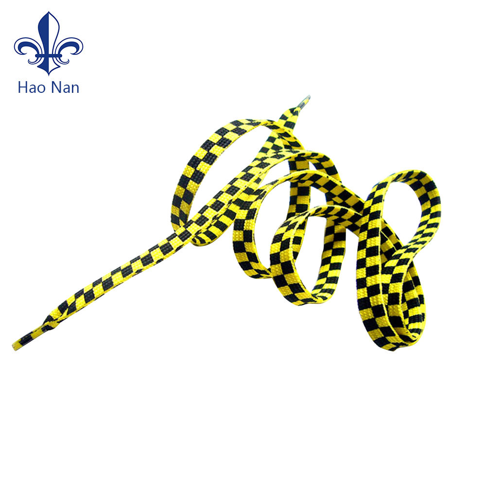 Polyester Custom Printed Bulk Shoelaces Sport Shoelace For Man