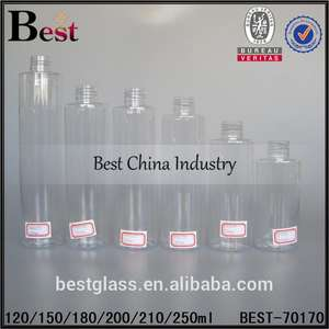 100ml/ 200ml/ 250ml /300ml /350ml/400ml pet bottle in stock empty cheap plastic bottle for cosmetic packaging china supplier