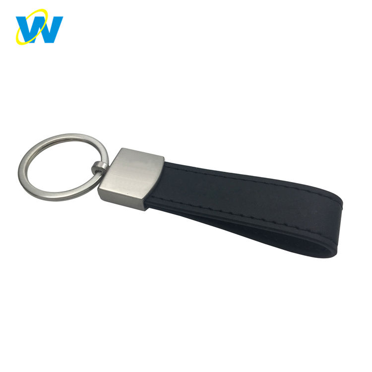 OEM ODM pereasonalized leather vòng keychain, keychain xe da