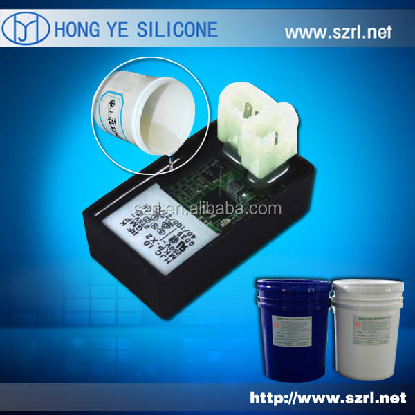 No toxicity Electronic potting compound silicone rubber