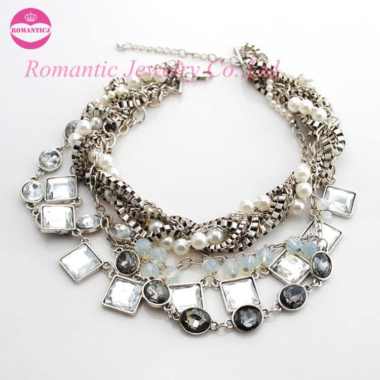 Trendy unique all-match adorning choker necklace