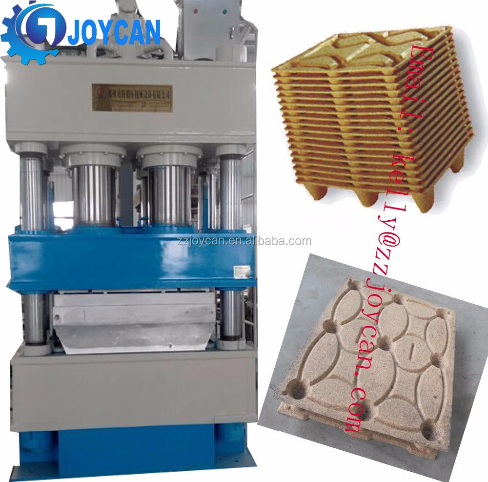 Compressed wooden pallet moulding pressing machine