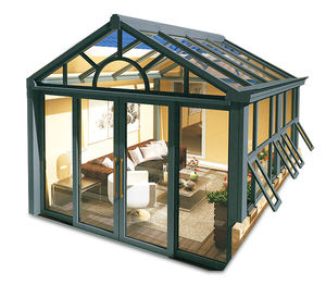 Baivilla Curved Lowes Unique Glass Sunrooms Glasses Sunroom aluminum frame sunroom