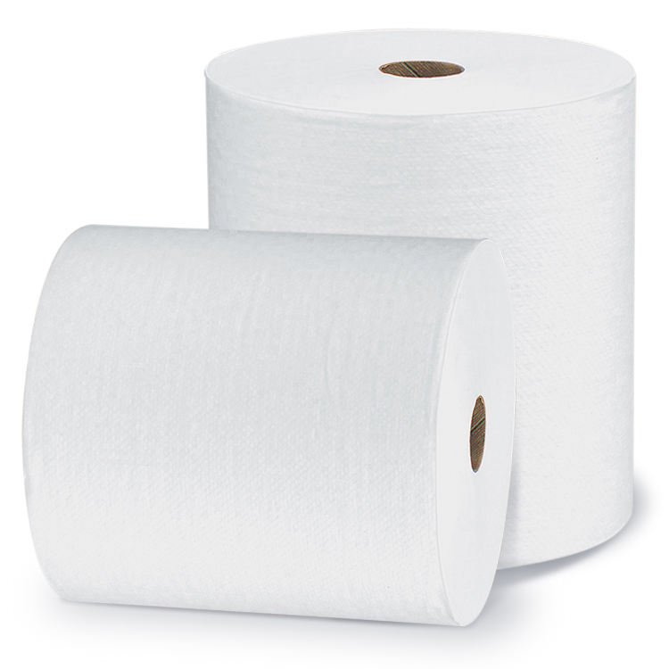 Hight quality plain white spunlace nonwoven fabric for wet wipes
