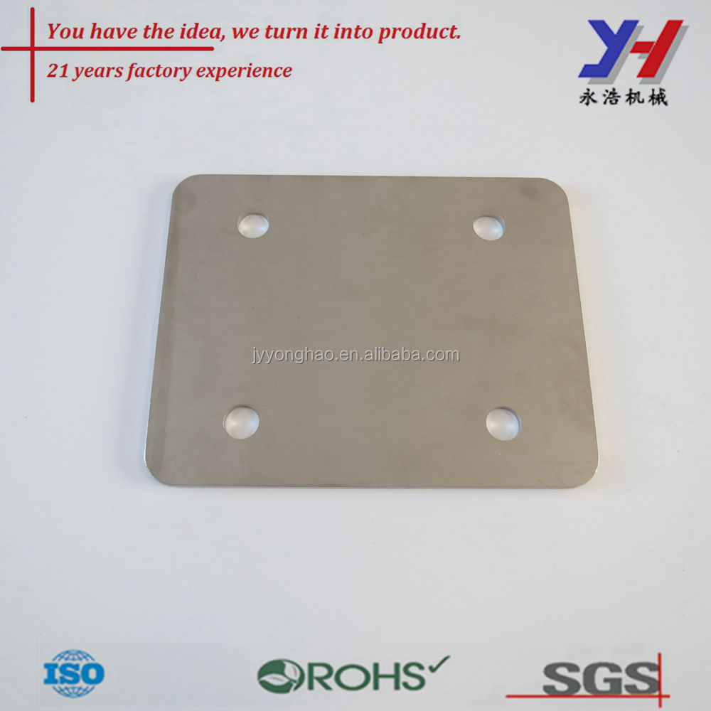 OEM ODM custom made hot sale precision Stainless steel Roller skating base