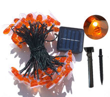 Solar String Outdoor Garden Decoration 30LED Solar Powered Honey Bee Fairy String Light For Patio Fence Lawn