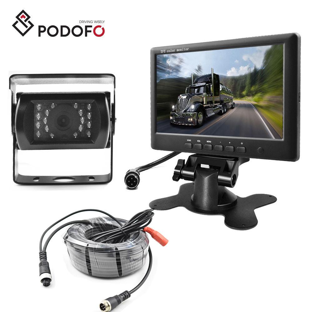Caméras de recul Auto et Moto Podofo Caméra de Recul WiFi 12V-24V ...