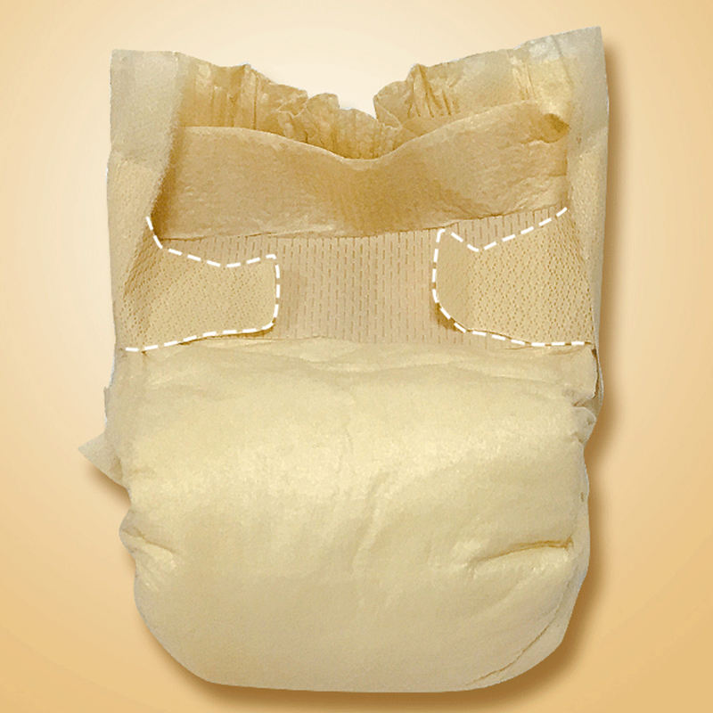 OEM Disposable High quality organic bamboo biodegradable baby diapers panda nappies factory