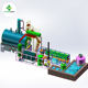 Waste engine oil recycle to diesel plant with 85% oil rate waste oil distillation plant