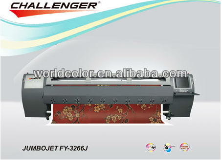3.2m Infiniti/Challenger FY-3266J with SPT1020/35PL, Solvent Outdoor Printer, Inkjet Digital Printing Machine