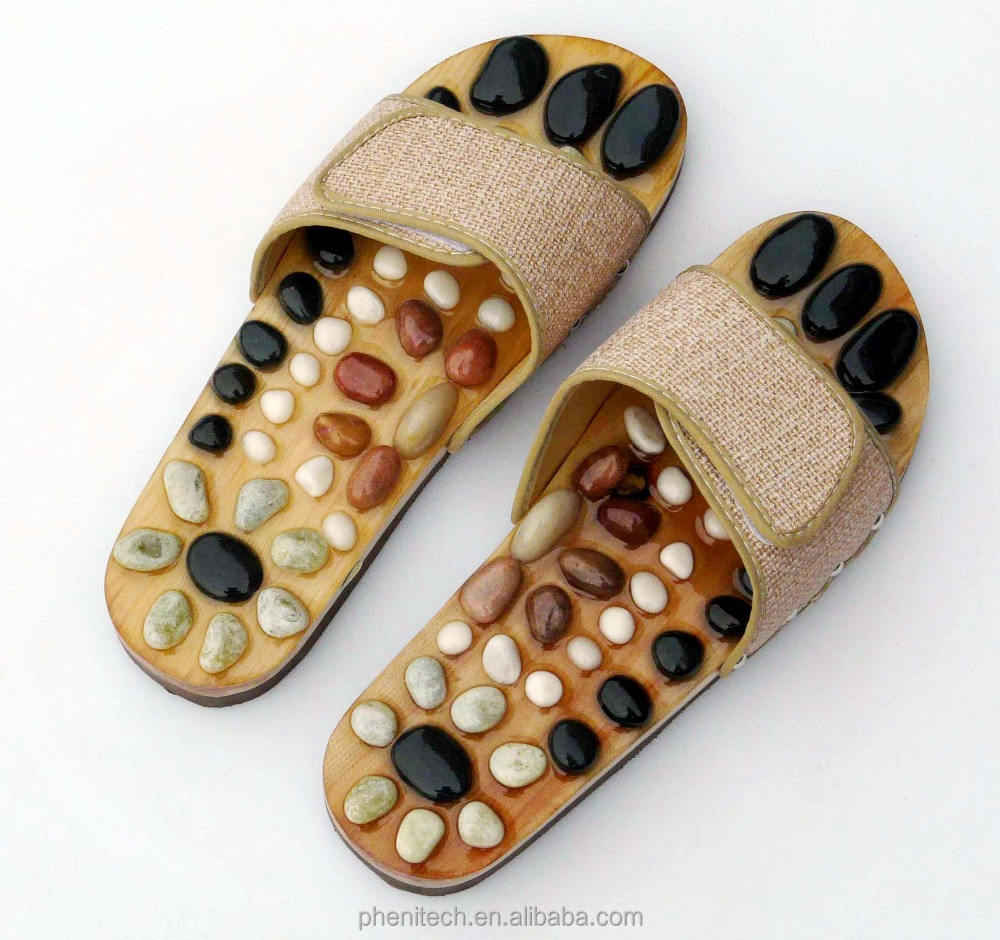 Hot sale!! Fashionable style massage slipper massage shoes improve sleeping quality