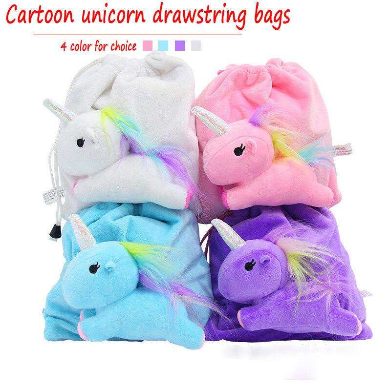 Lovely Unicorn Doll Pendant Keychain Plush Toy Accessories Key Ring Bag Decor/plush unicorn bag