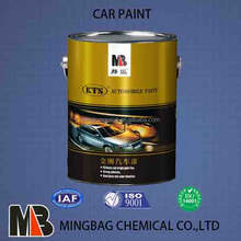 1K car paint metallic silver color
