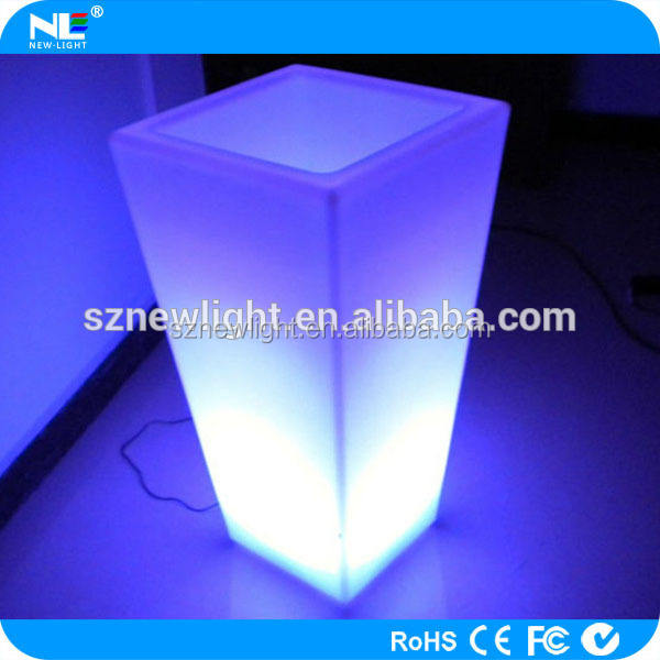 Waterproof LED Flower Vase And Shine LED Flower Pot