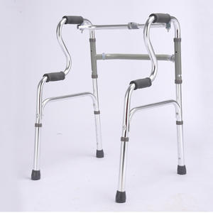 Walker Folding Assistant Standing Disabled Aids Aluminum Walking Assist Device
