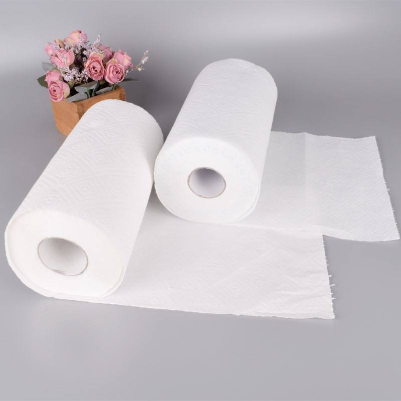 2ply 100% Virgin Pulp Sustainable Fiber Kitchen Paper Towel