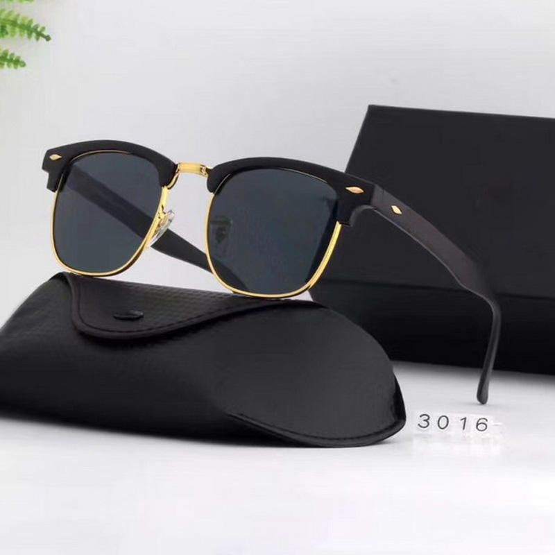 High Quality 2019 Colorful Ray Brand Sunglasses Mens Sun Glasses RB3016