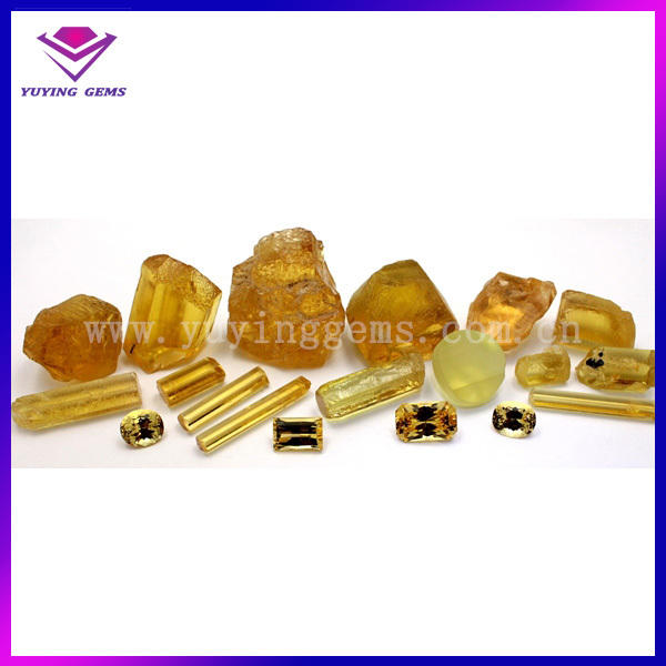 uncut Yellow rough corundum wholesale price