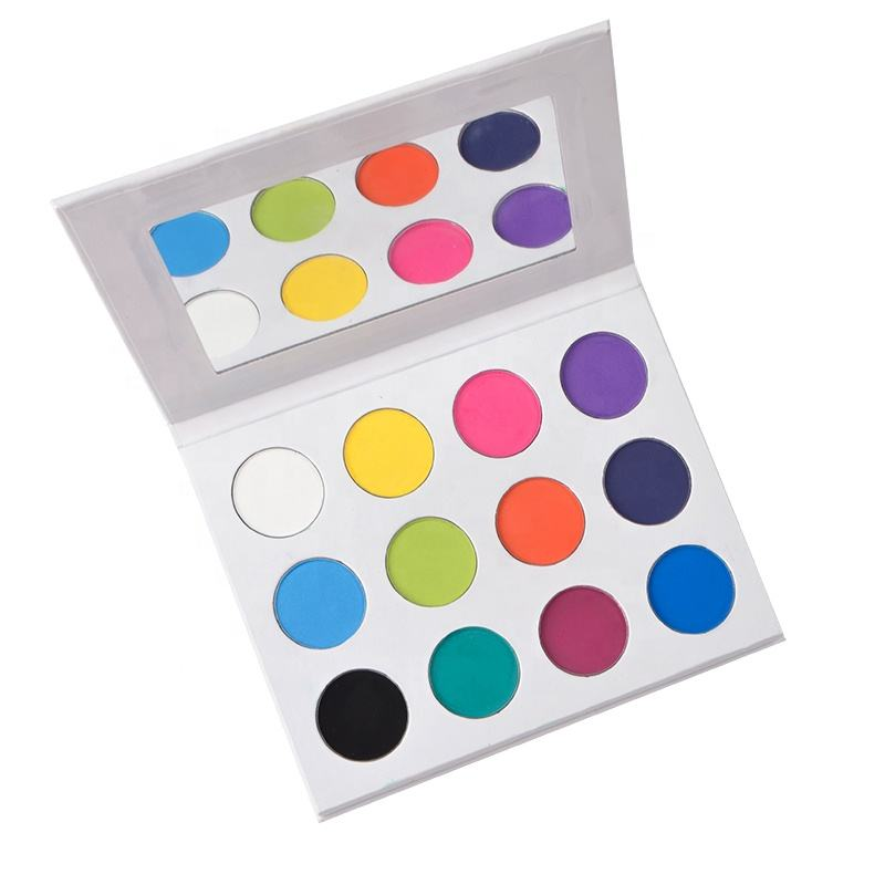 12 Color Oem Diy Eye Makeup Private Label High Pigment Eyeshadow Palettes