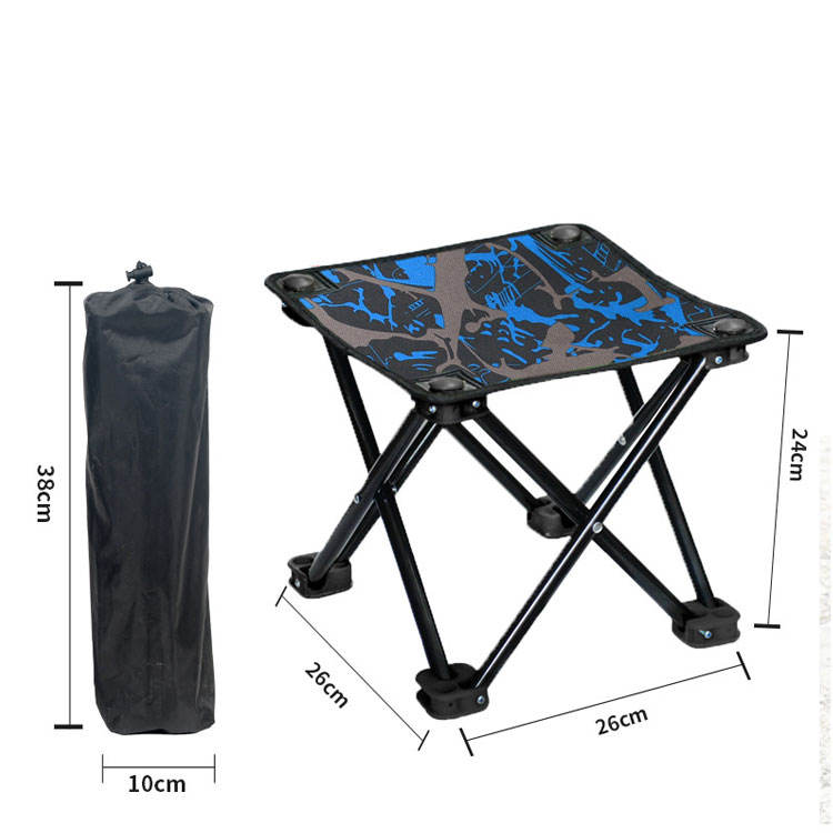 Lepu Factory Wholesale Outdoor Furniture Portable Fishing Small Beach Camping Stool Mini Folding Chair