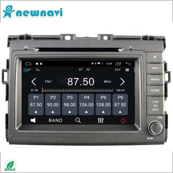 8 zoll 2 din auto stereo android 6.0 system auto <span class=keywords><strong>dvd</strong></span> unterstützung 4g verbindung für Toyota Estima
