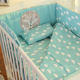 Crib Bedding Cartoon Pattern Deer Baby Girl Crib Bedding Set Wholesale
