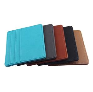 Custom PU Leather Wallet Card Holder
