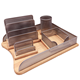 Exports Office Wooden Filling Stationery Organizers Tray