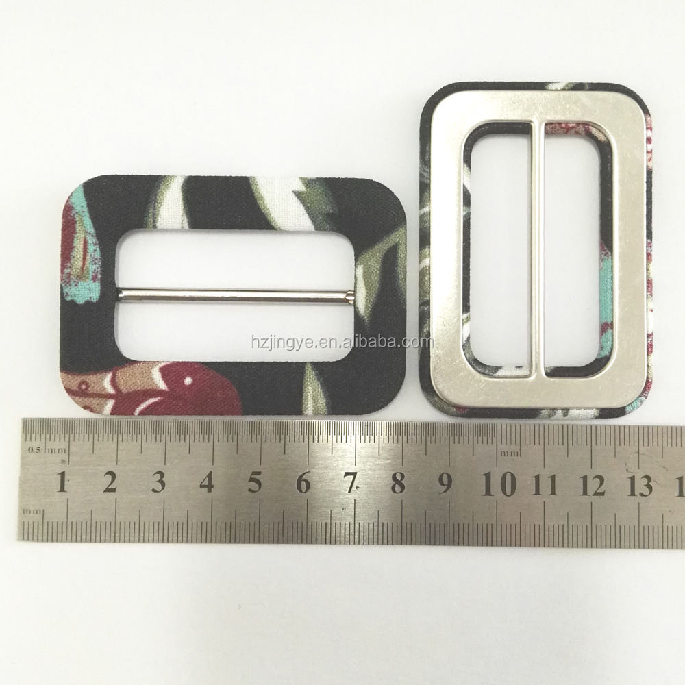 50mm inner big fabric covered buckle