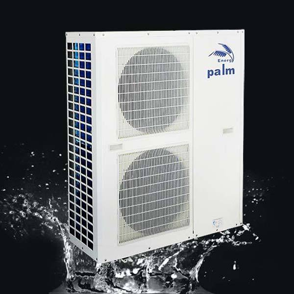 palm heat pump air to water