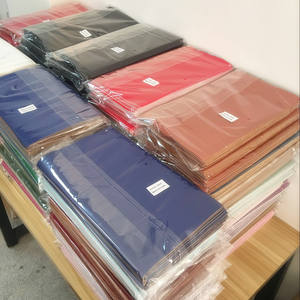 Solid PU Leather Vegan Leather / Faux Leather Sheets