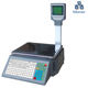 Precision 1/3000 supermarket barcode label printing scale 30kg support 10000 PLU sdata storage capacity hspos scale with printer