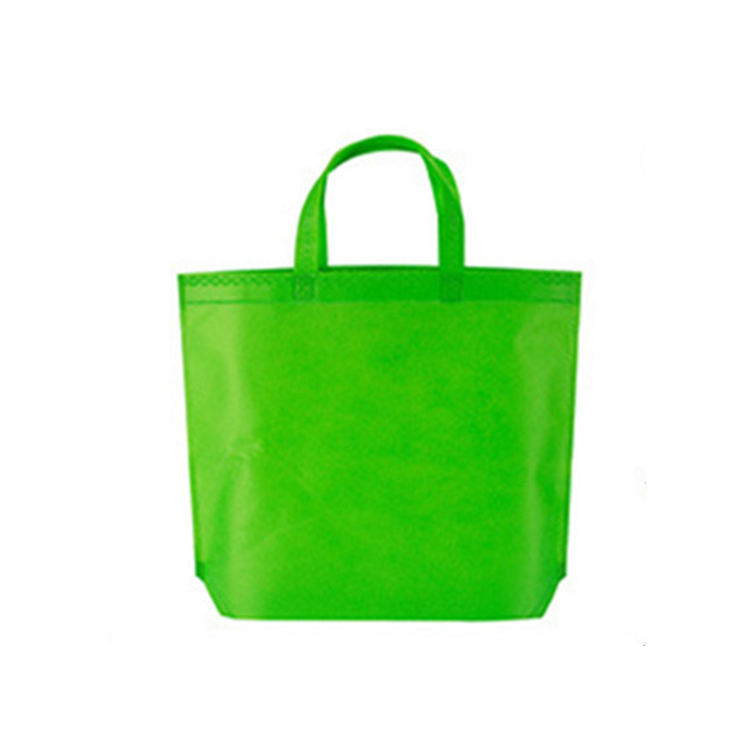 Reusable foldable environmental tote storage handbag nonwoven shopping bag
