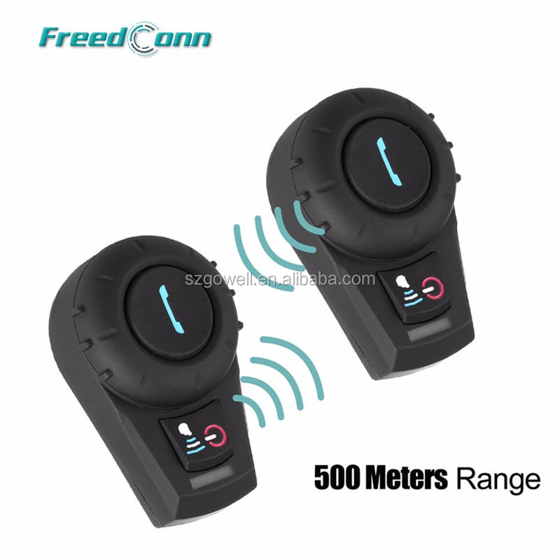 2 pièces FreedConn VB BT Bluetooth Interphone Moto Interphone de Casque de Moto Casque 500M Livraison Gratuite!!