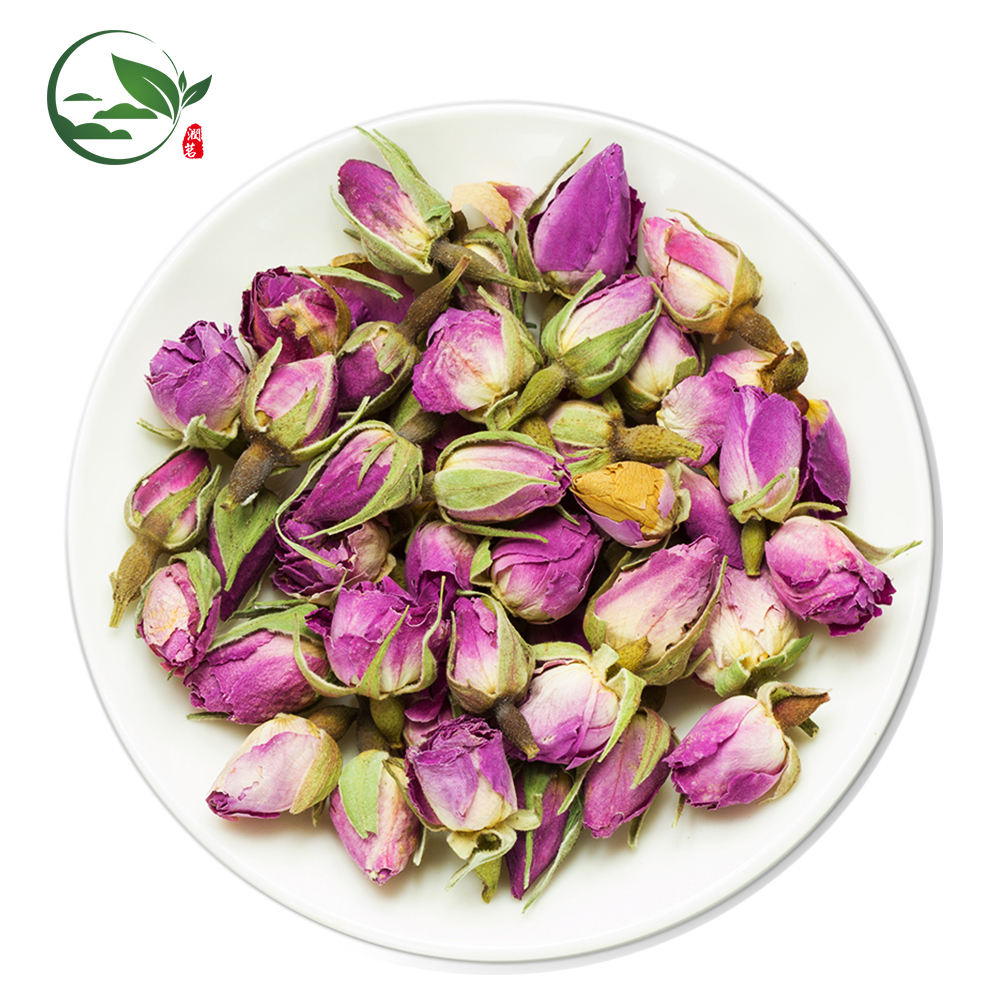 Buy Organic Dried Pink Flowers Dried Roses Small Rose Buds for Tea/Pingying Rose Essence Flower Bud Herbal Tea Wholesale Supplie