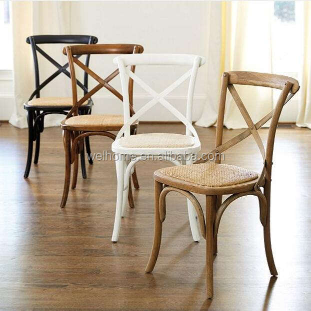 dining room furniture solid wood crossback chairs