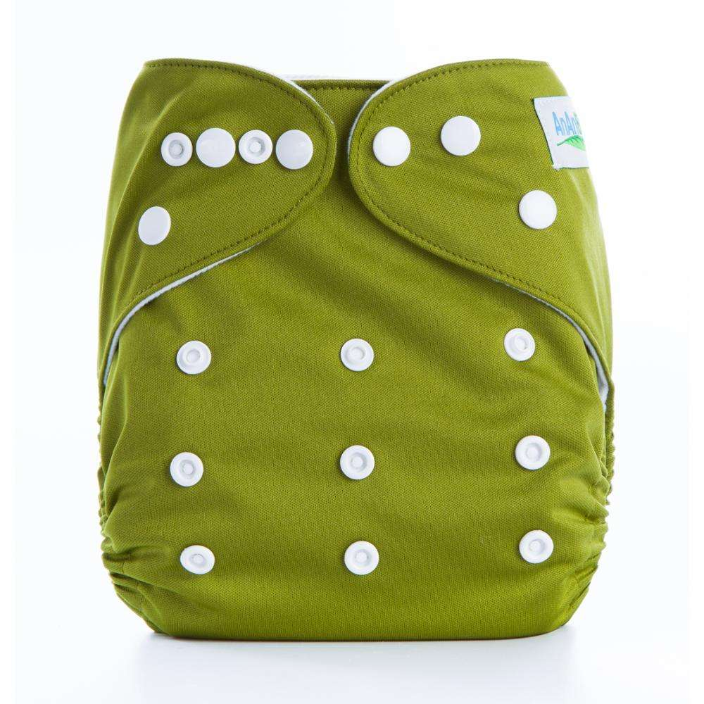 Plain Foldable Nappies Diaper Insertable And Reusable Baby Diaper