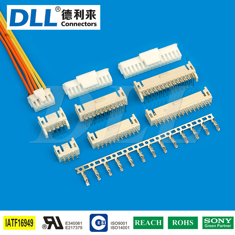China supplier 2 10 48 pin female connector wire harness
