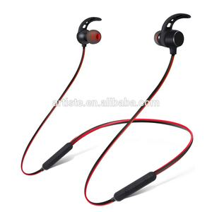 2019 New Neckband Wireless Earphone Sport BT Headphone Dual Battery with mic BT Headset Earpiece Auriculares for Phone Accessory