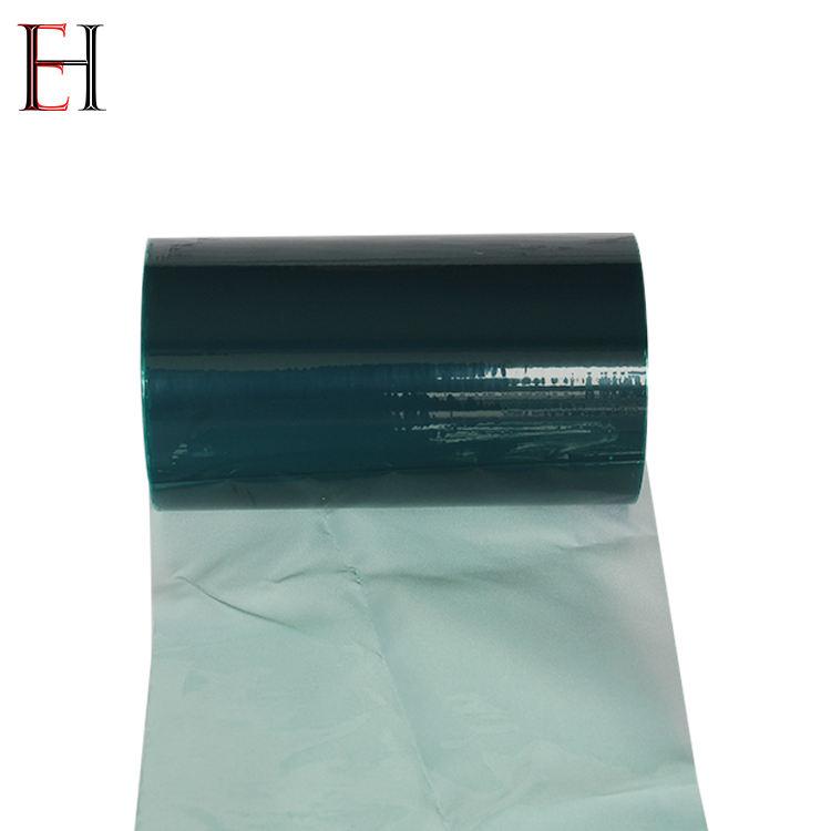 Transparente de polietileno pe película protetora para a folha de acrílico e aço inoxidável